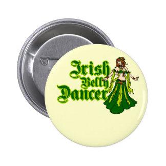 Irish Belly Dancer Pinback Button