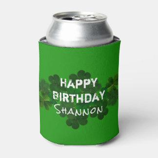 Irish Birthday Personalized Drink Coozie