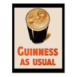 Irish Black Beer Postcards