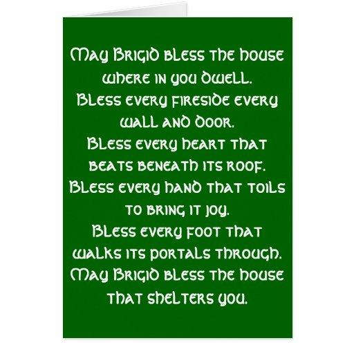 Irish Blessing 6 Card