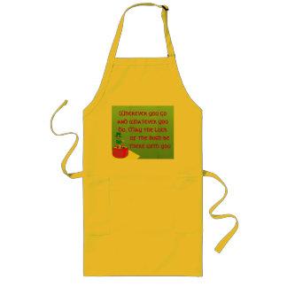Irish blessing apron
