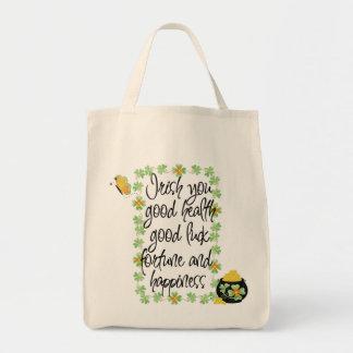 Irish Blessing Canvas Bag