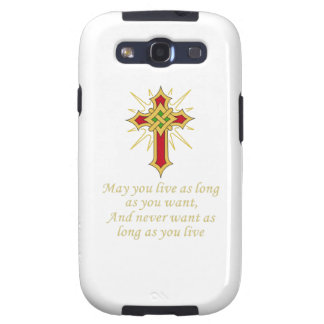 IRISH BLESSING SAMSUNG GALAXY S3 COVER