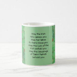 Irish blessing cup