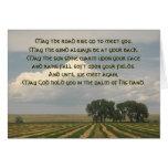 Irish Blessing Farmland Greeting Cards
