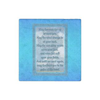 Irish Blessing Stone Magnet