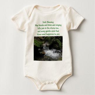 Irish Blessing infant onsie creeper