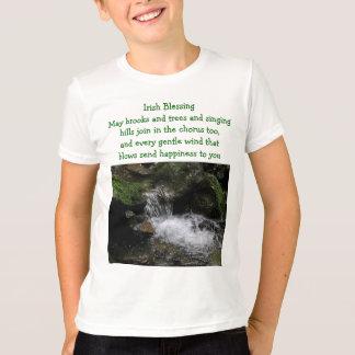 Irish blessing kids shirt