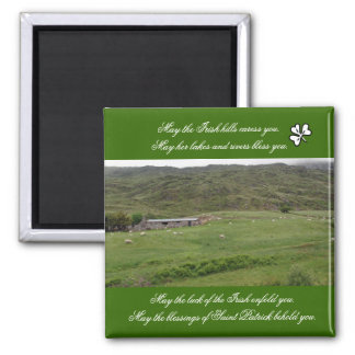 Irish Blessing Magnet - Donegal Ireland