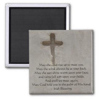 Irish Blessing may the road Fridge Magnet