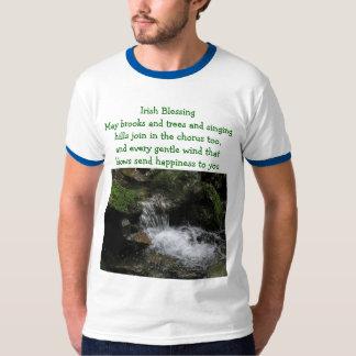 Irish blessing mens shirt