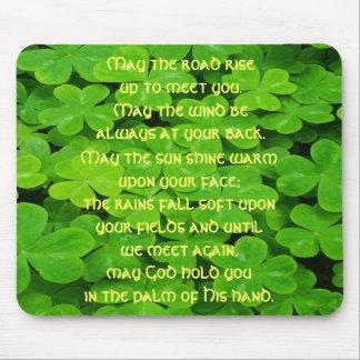 Irish Blessing Mouse Pad