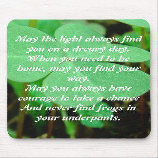 Irish Blessing - MousePad