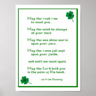 Irish Blessing Print