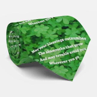 Irish Blessing Tie