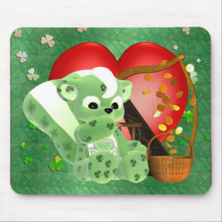 Irish Blessings and Lots of love on St. Patrick's Mouse Pad
