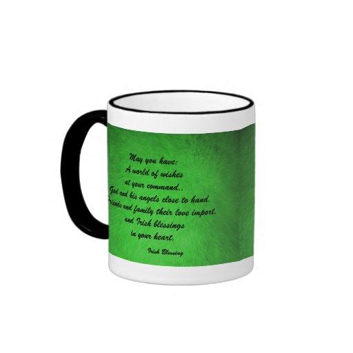 Irish Blessings Coffee Mug