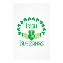 Irish Blessings Stationery