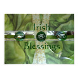 "Irish Blessings Wedding Invitations 5"" X 7"" Invitation Card"