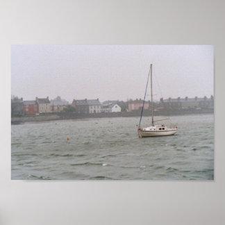 Irish boat Poster