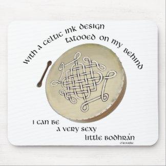 Irish Bodhran - Irish Step Dance Mouse Pad