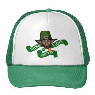 Irish bog trotter St Patrick's day Trucker Hat