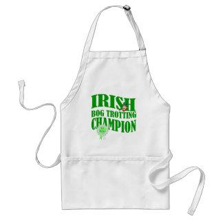 Irish bog trotting champion adult apron