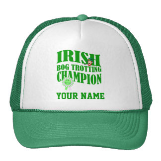 Irish bog trotting champion, St Patrick's day Trucker Hat