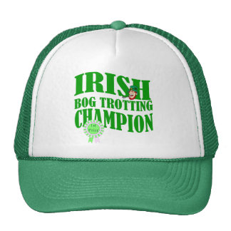 Irish bog trotting champion trucker hat