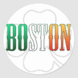 Irish Boston Stickers