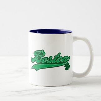 Irish Boston Two-Tone Coffee Mug