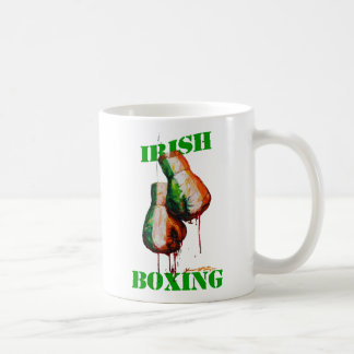Irish Boxing Pride Classic White Coffee Mug