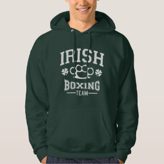 IRISH Boxing Team Knuckles Hooded Pullover