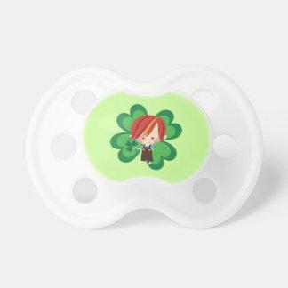 Irish Boy New Baby St Patricks Shower Gift Pacifiers
