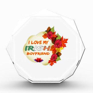 Irish Boyfriend Design Acrylic Award
