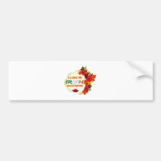 Irish Boyfriend Design Bumper Sticker