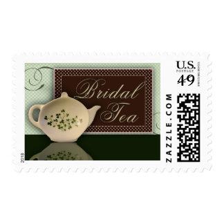 Irish Bridal Tea Postage Stamp
