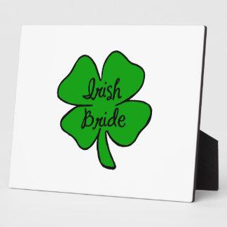 Irish Bride Plaque