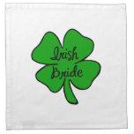 Irish Bride Printed Napkin