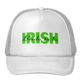 Irish Bride To Be Trucker Hat
