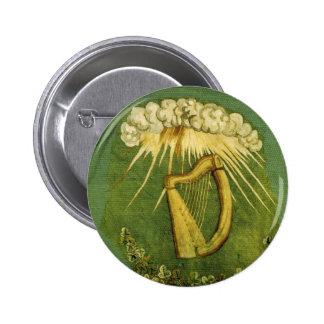 Irish Brigade Flag Button