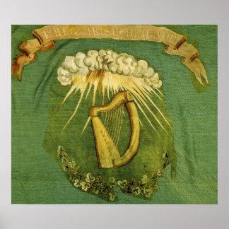 Irish Brigade Flag Poster