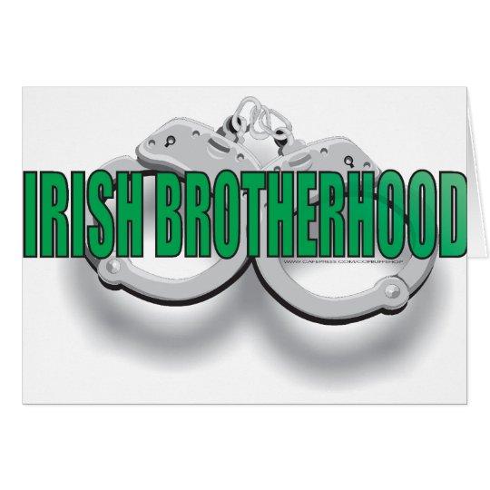 IRISH BROTHERHOOD CARD