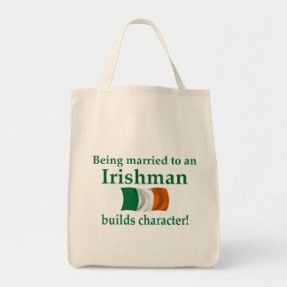 Irish Builds Character Canvas Bag