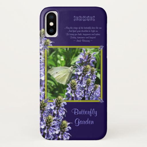 Irish Butterfly Blessing iPhone XS Case