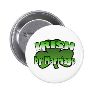 Irish By Marriage Button
