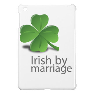 Irish by marriage design cover for the iPad mini