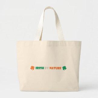 irish by nature tote bag