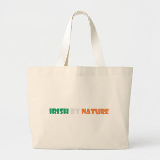 irish by nature canvas bags