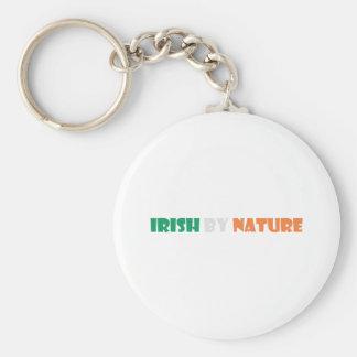 irish by nature keychain